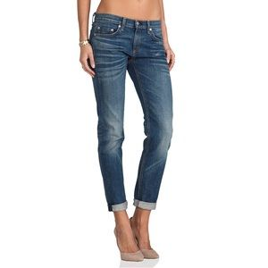 Rag & Bone The Dre Low-Rise Boyfriend Jeans, 28